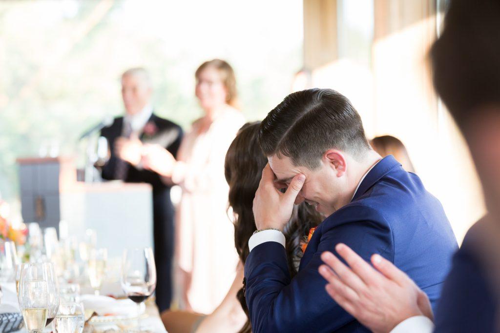 wedding speeches at royal mayfair golf club