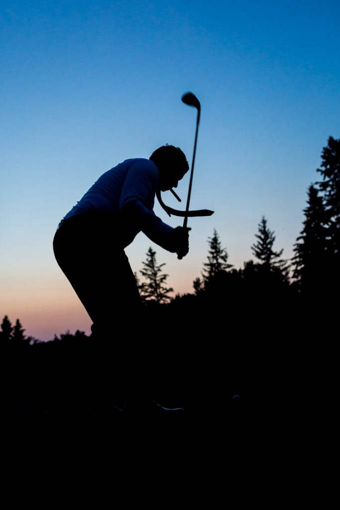 Royal Mayfair Golf Club sunset wedding
