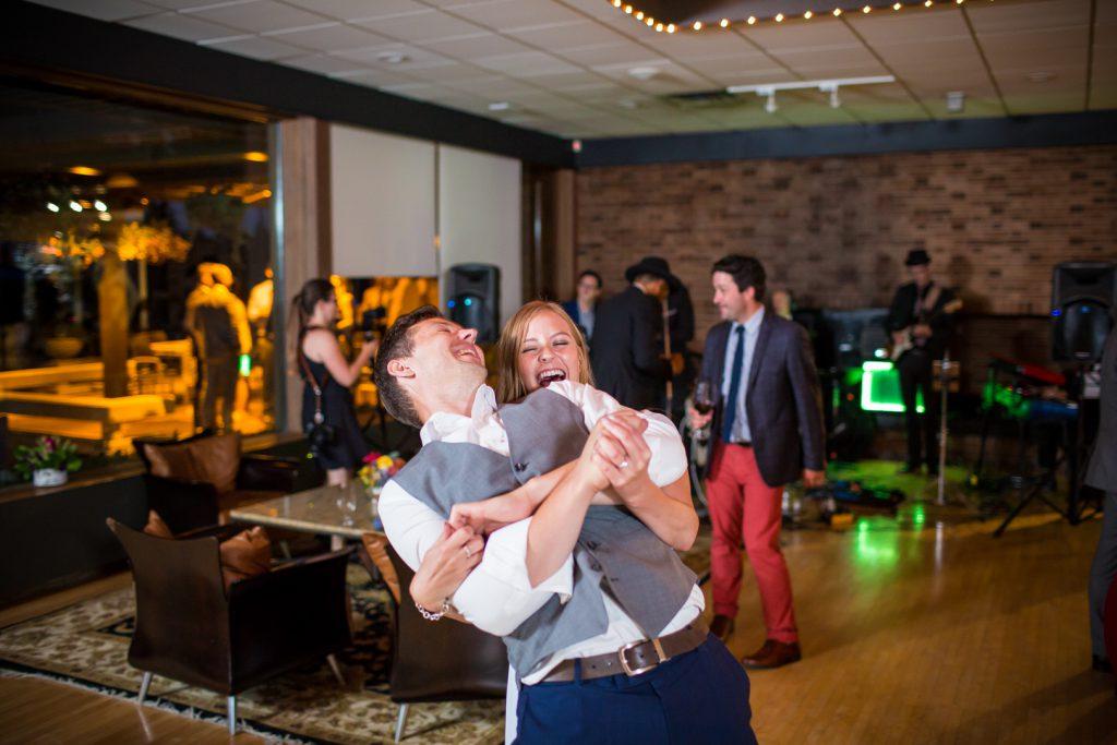 wedding reception and dance at Royal Mayfair Golf club