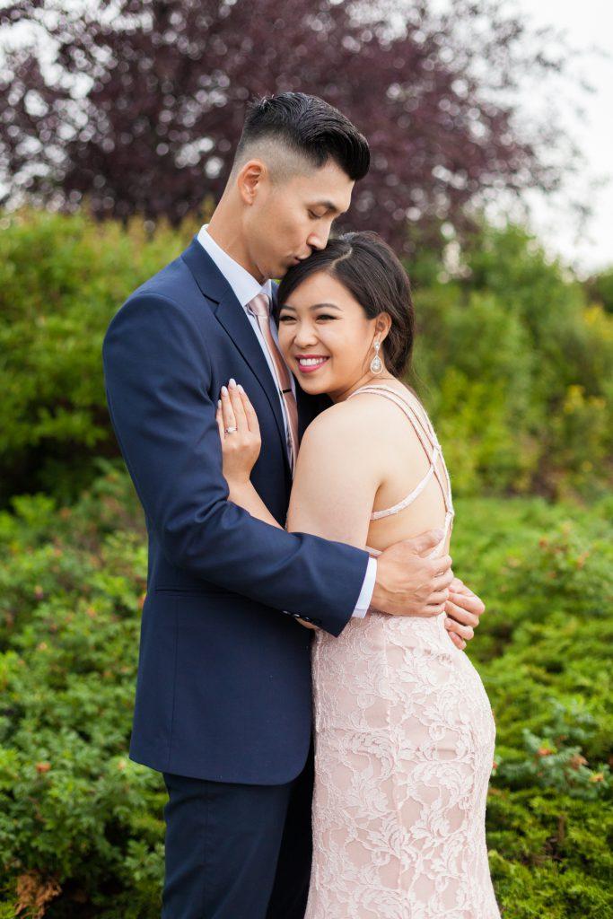 edmonton hotel wedding portraits