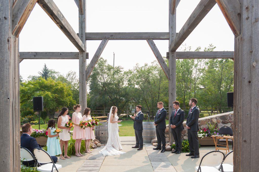 Leduc wedding ceremony venue