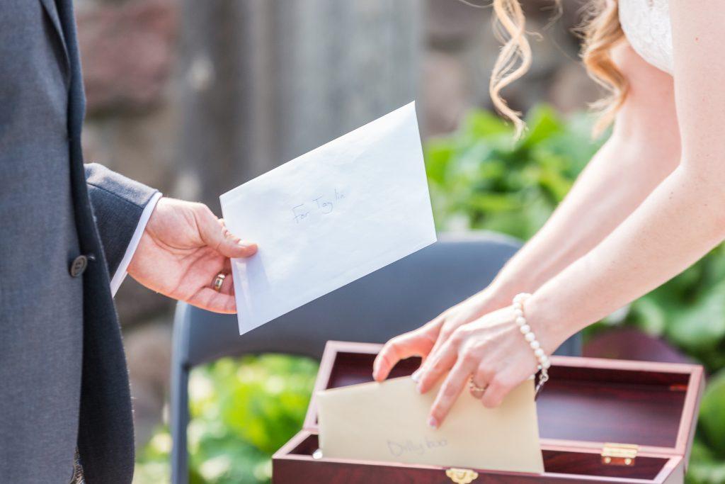wine box unity for wedding ceremony