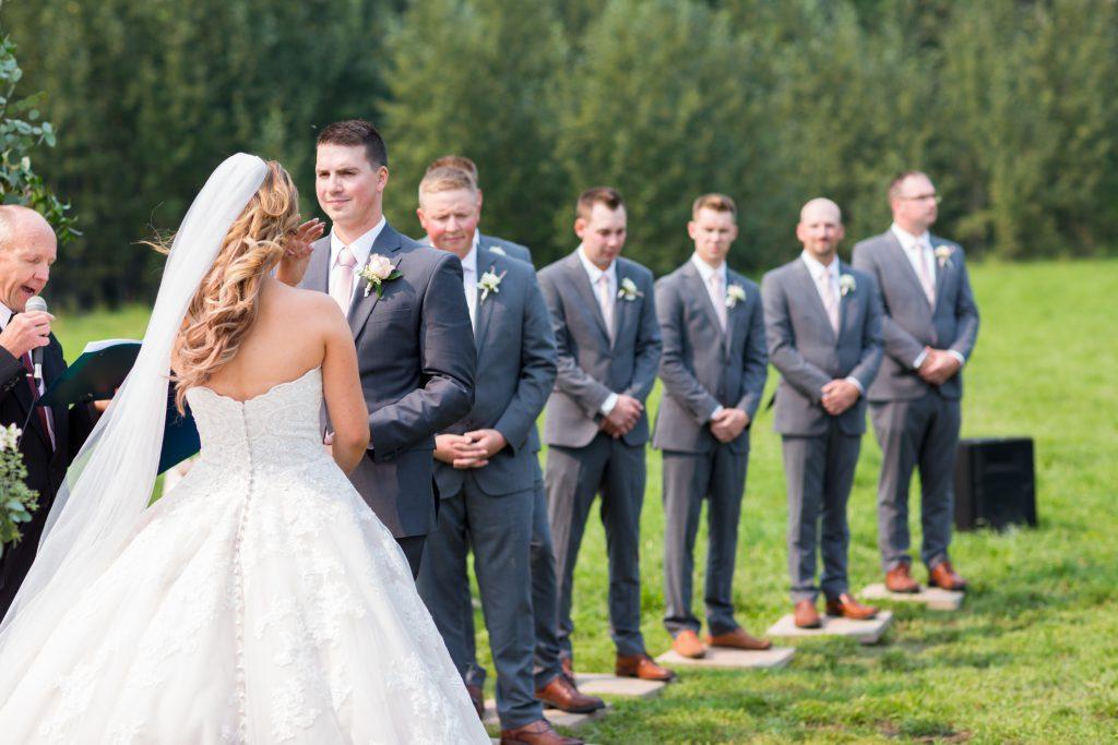 wedding ceremony photography whitecourt alberta