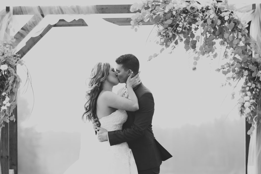 first kiss photo