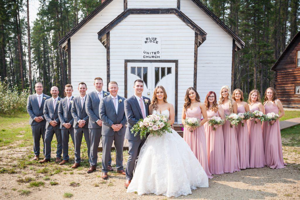 forest interpretive centre wedding photos