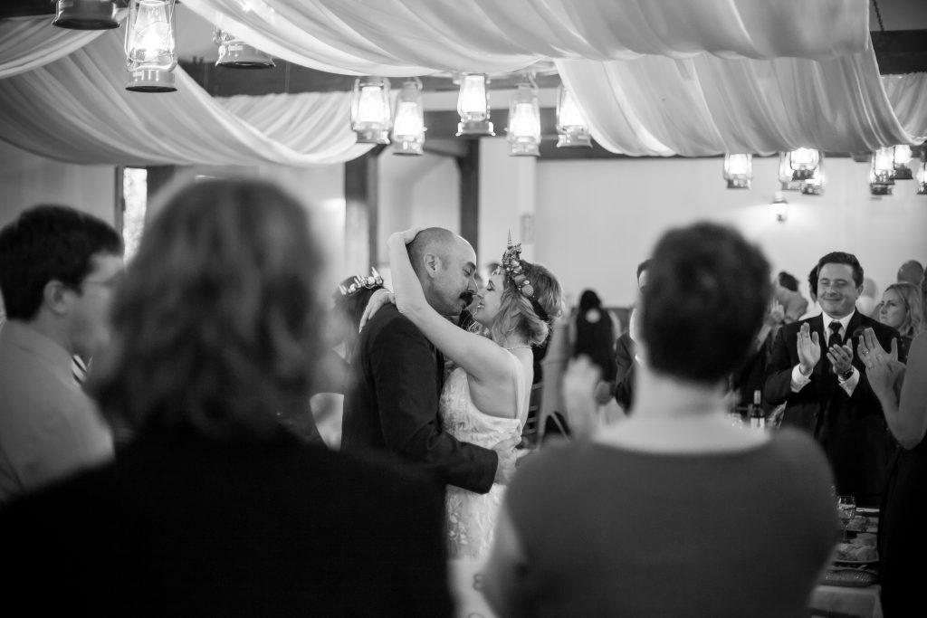 wedding reception photos at egges barn