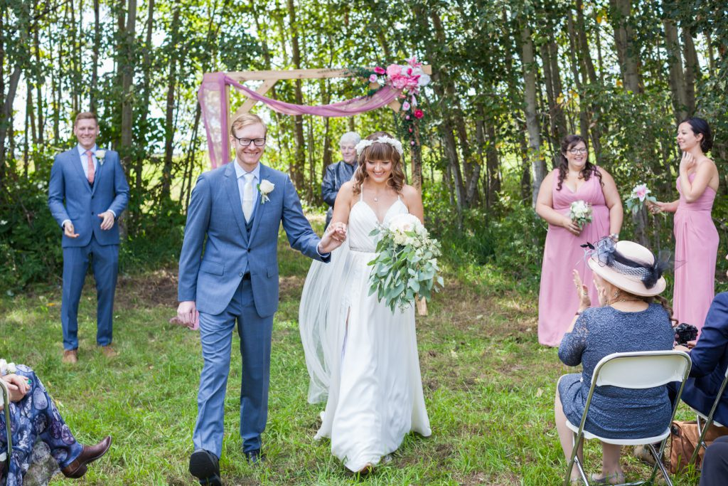 wedding processional photos