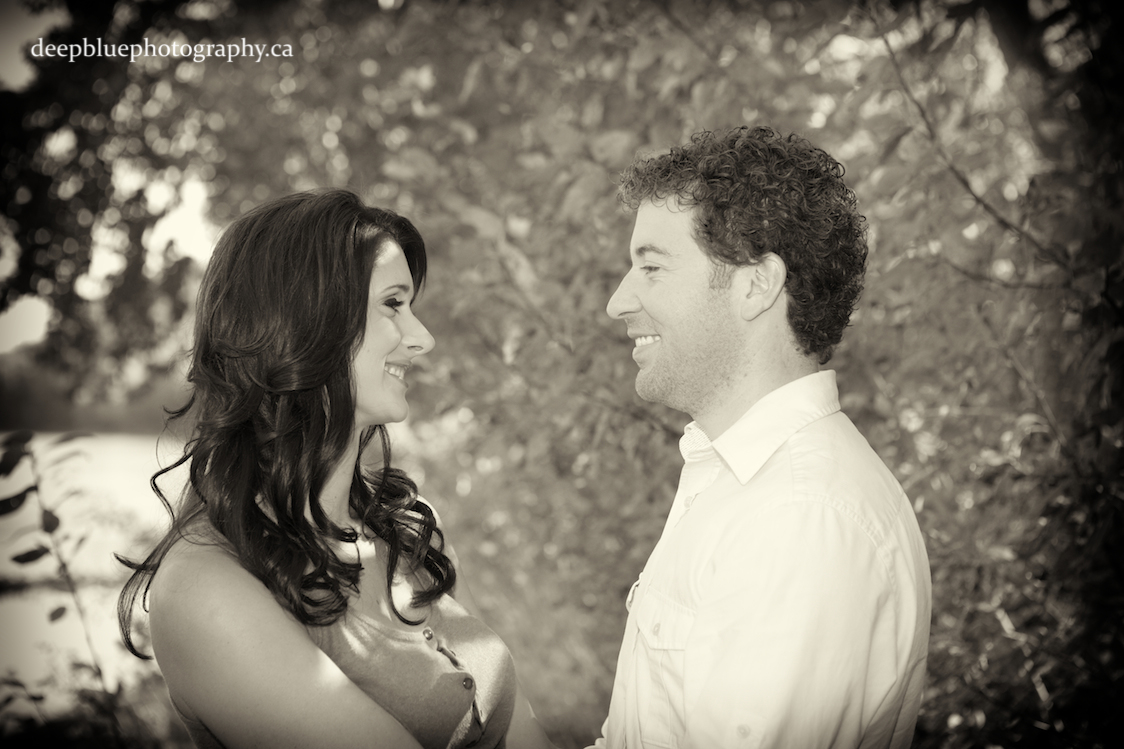 Photo of Cute Couple in Black and White