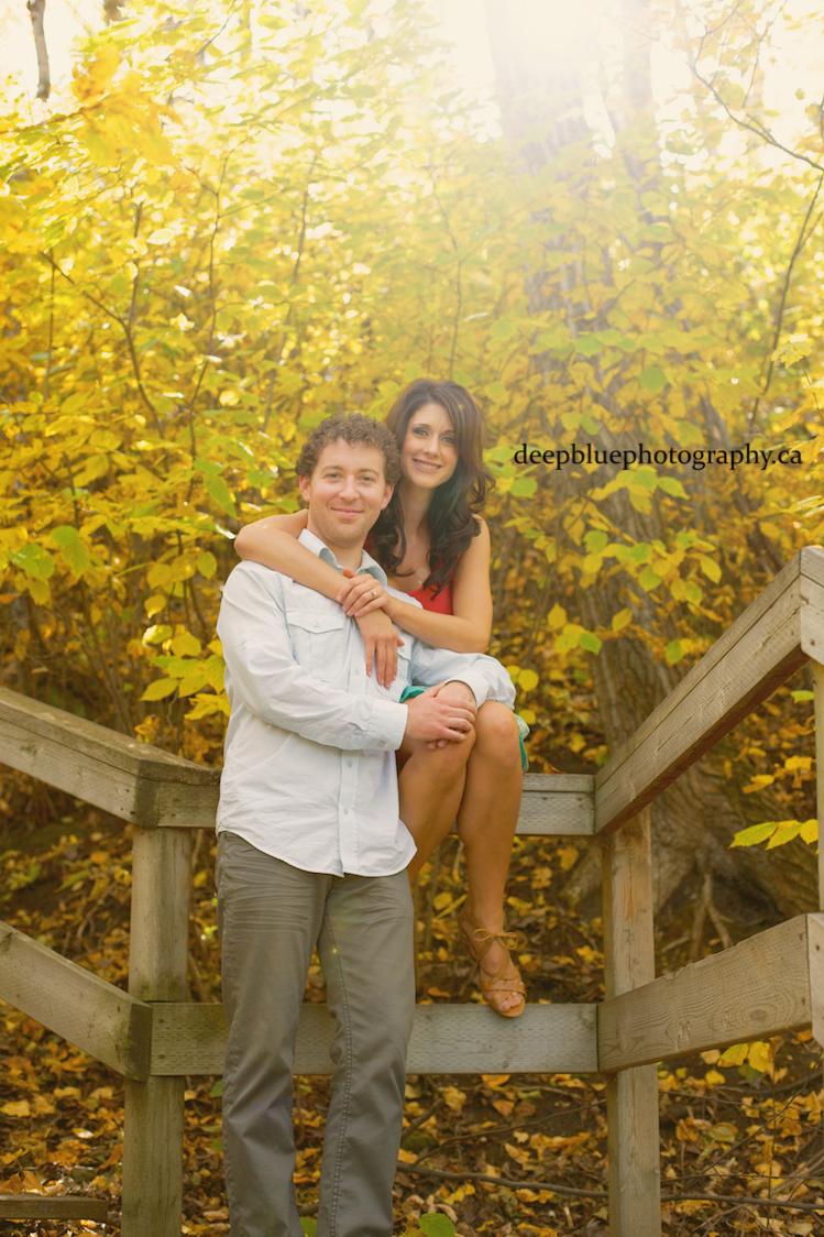 Emily Murphy Park Edmonton River Valley Engagement Pictures