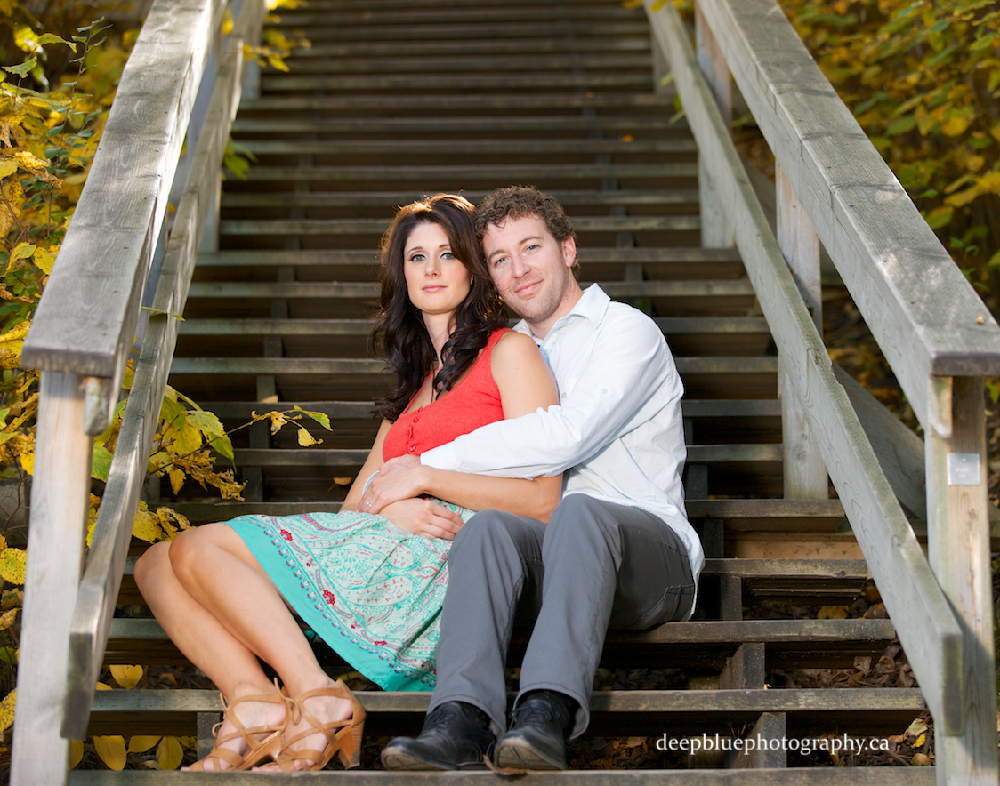 Edmonton River Valley Engagement Pictures Emily Murphy Park