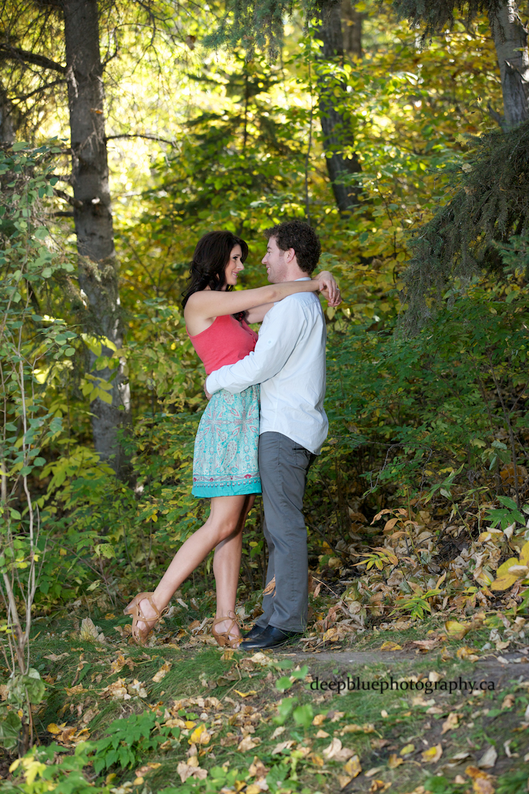 Emily Murphy Park Fall Engagement Photos
