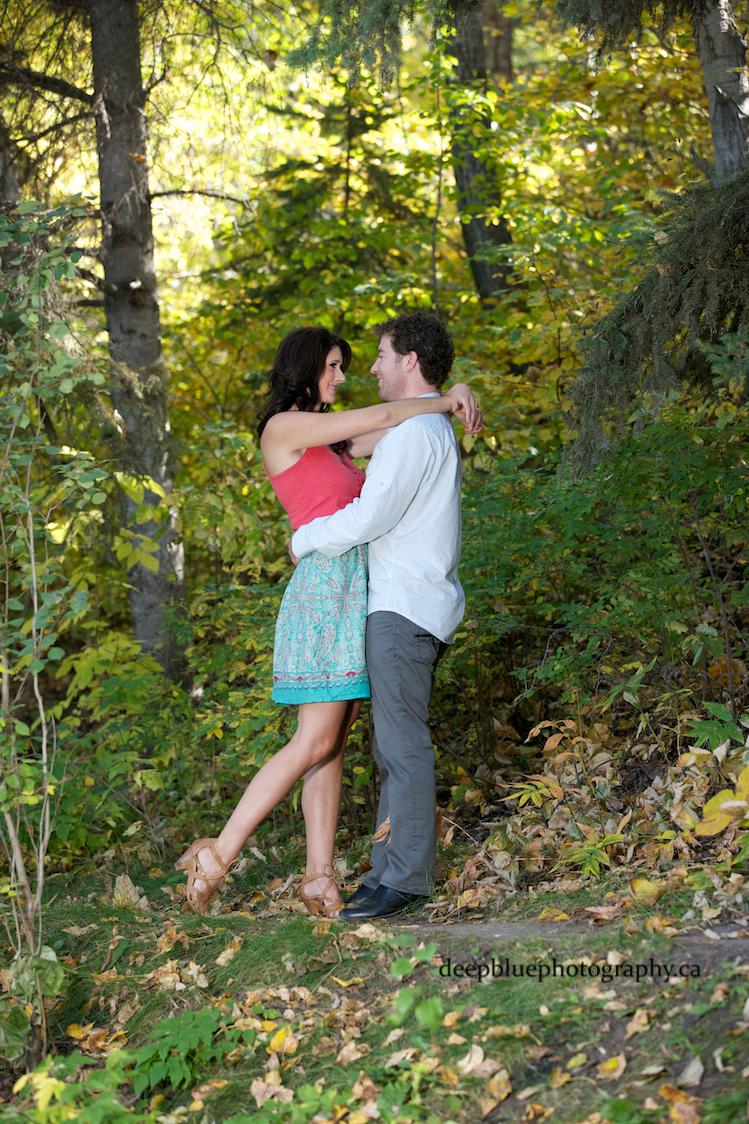 Emily Murphy Park Fall Engagement Photos