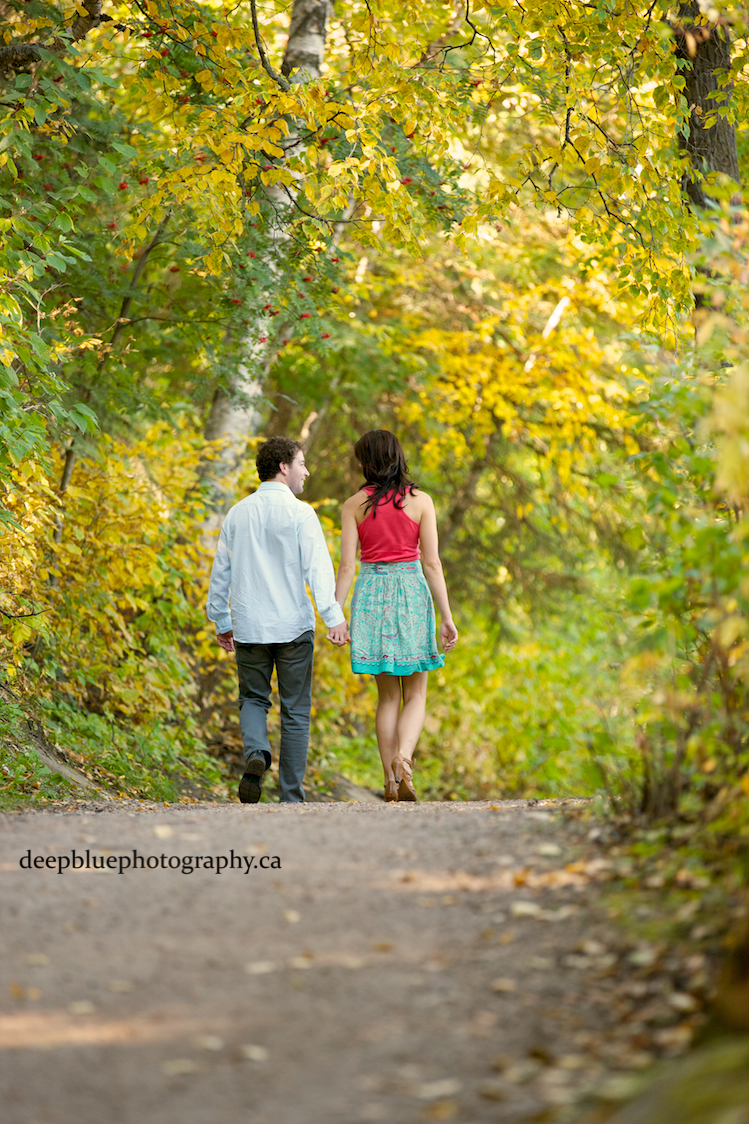 Emily Murphy Park Fall Engagement Pictures