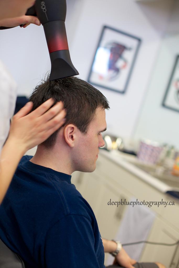 Chris Gets a Haircut