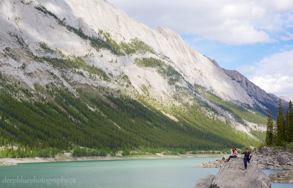 Engagement Pictures In Jasper National Park