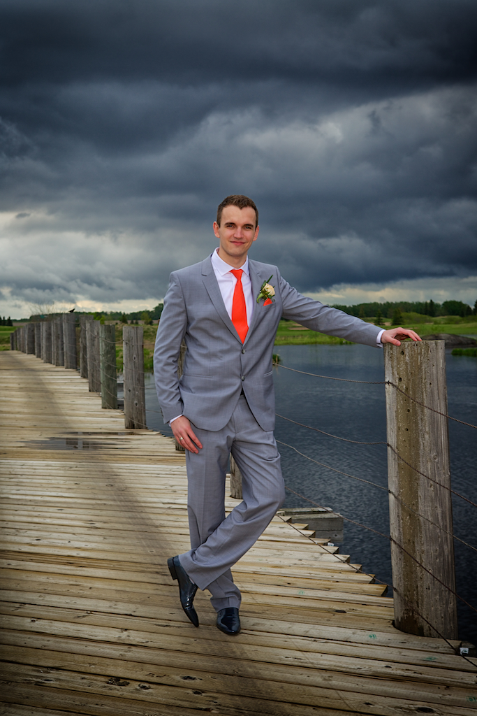 Nick's Full Length Grooms Portrait