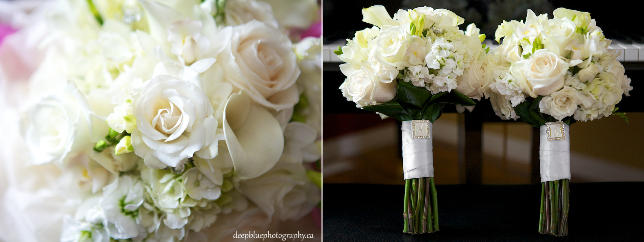Krista and her Daughter's Bouquets