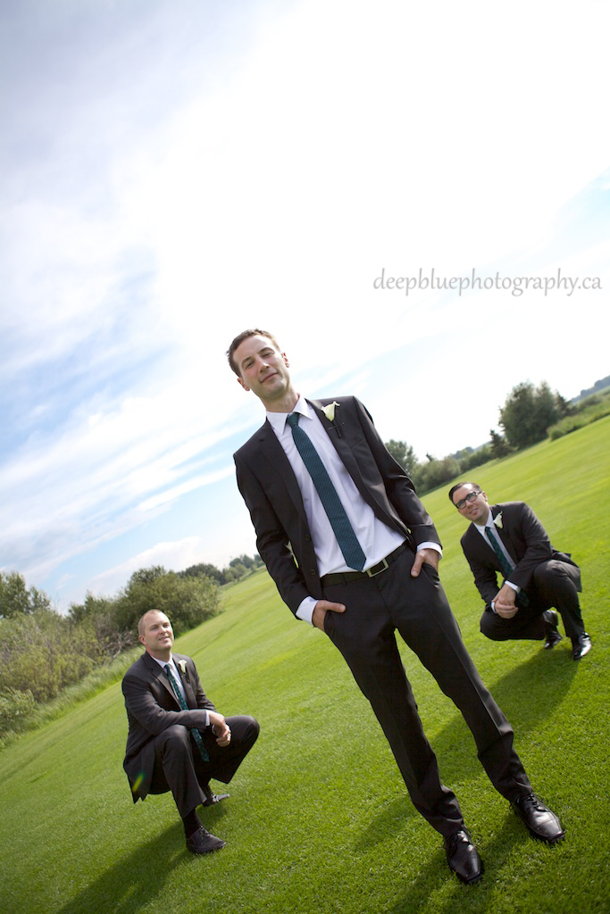 Dustin and The Groomsmen