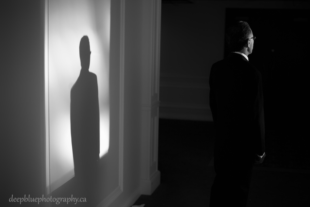 Photo of the Groom Waiting for His Bride