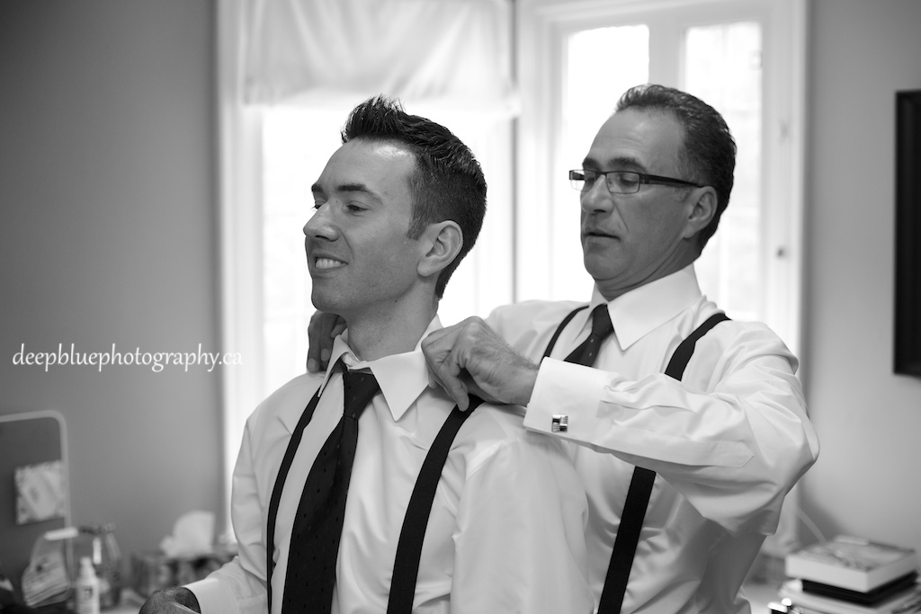 Pasquale and Groomsmen Getting Ready