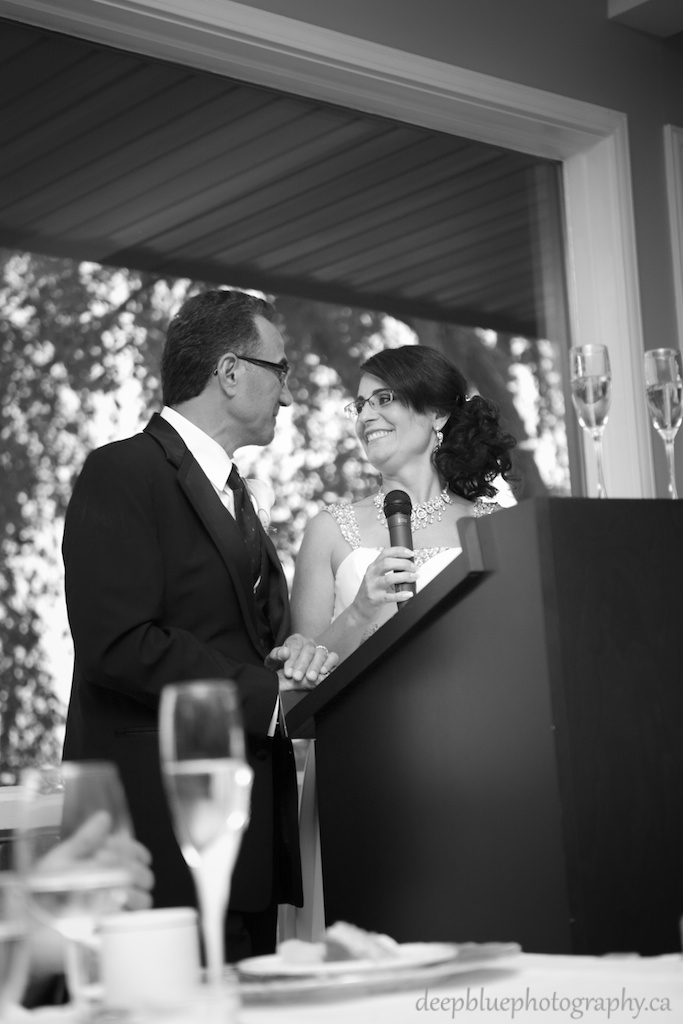 Krista and Pasquales Heartfelt Speech At Their Edmonton Golf And Country Club Wedding