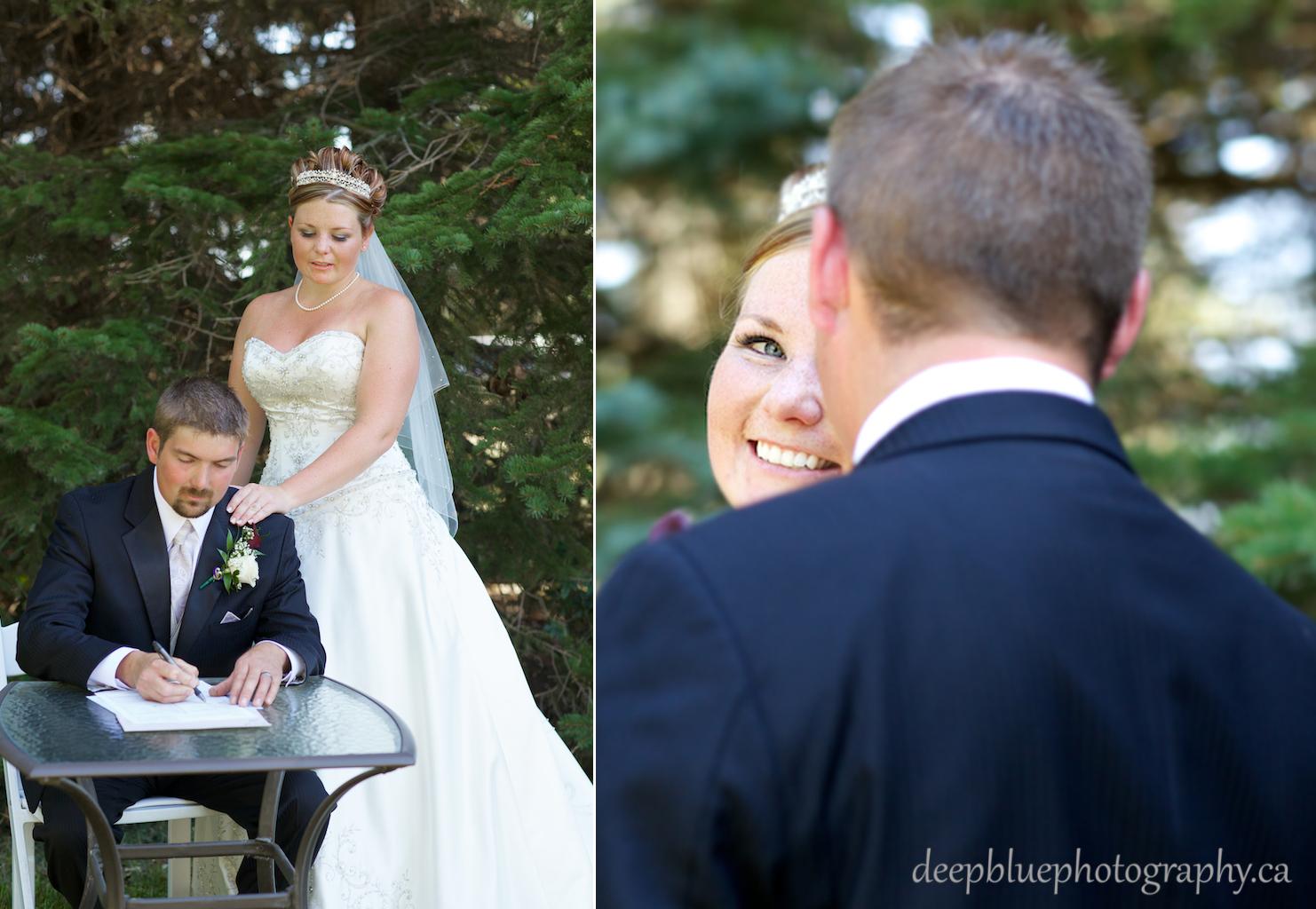 Tara and Tyler's Wedding Ceremony