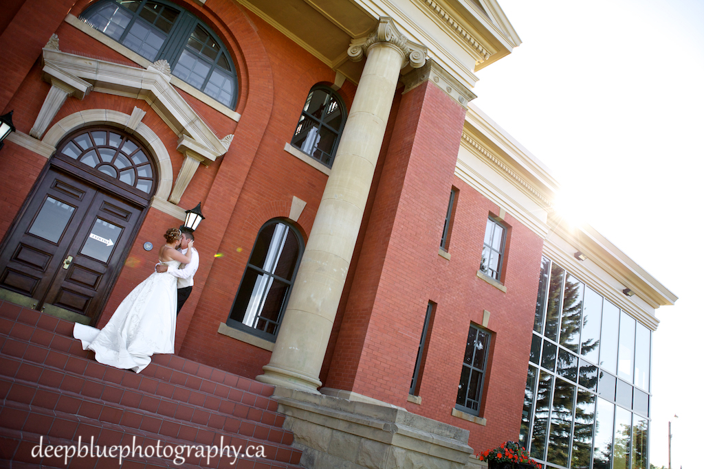 Bride And Groom In Wetaskiwin Wedding Photography