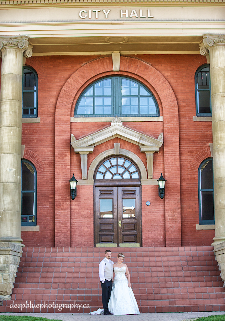 Wetaskiwin Wedding Photography At City Hall