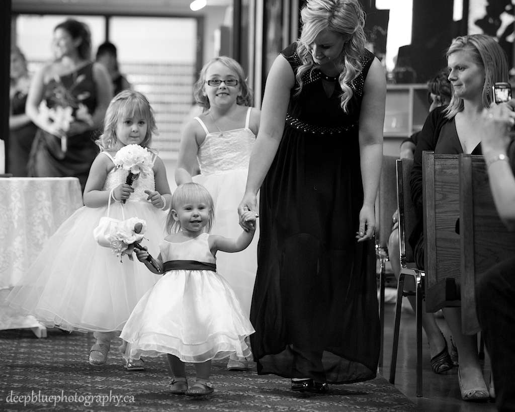 Rebecca's Beautiful Flower Girls
