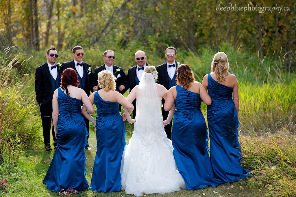 Rebecca and Brad's Fun Wedding Party