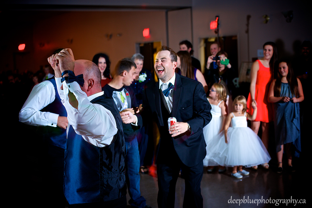 Woodvale Golf and Country Club Wedding Reception Dancing Picture