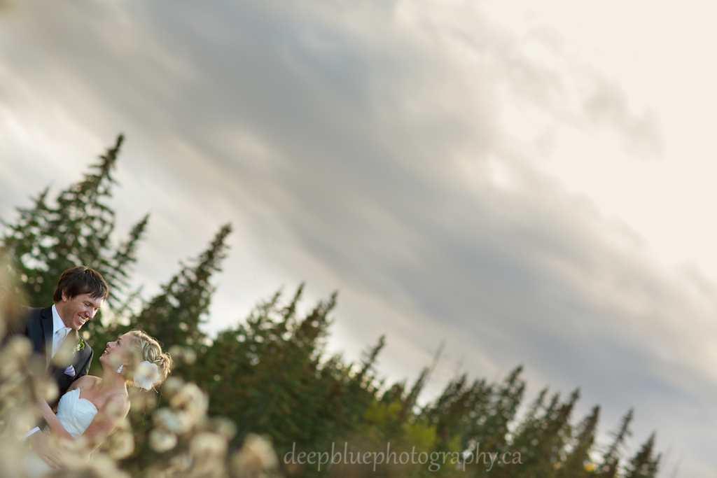 Autumn Wedding Portraits at Snow Valley