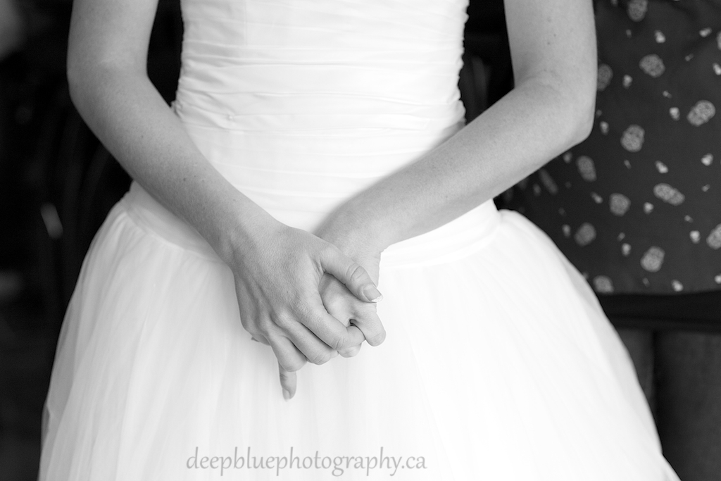 Detailed Photo of Brides Hands