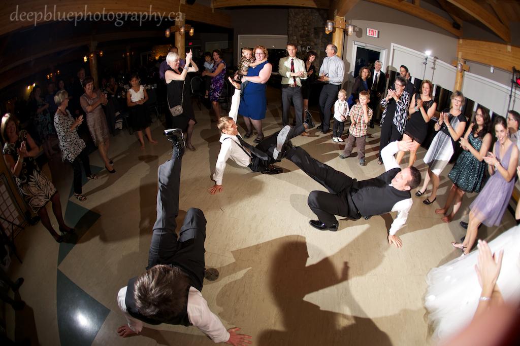 Matthew and his Groomsmen Dancing