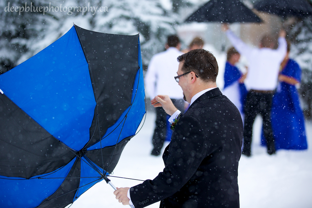 Winter Wedding Edmonton Pictures