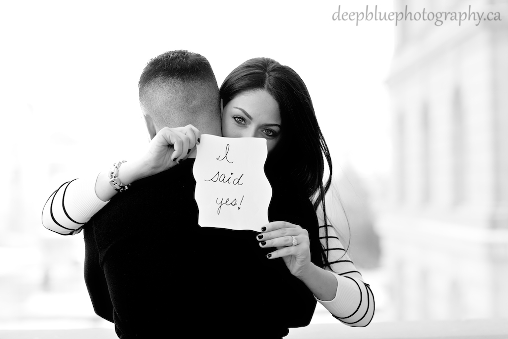Sign For I Said Yes At Alberta Legislature Engagement Pictures