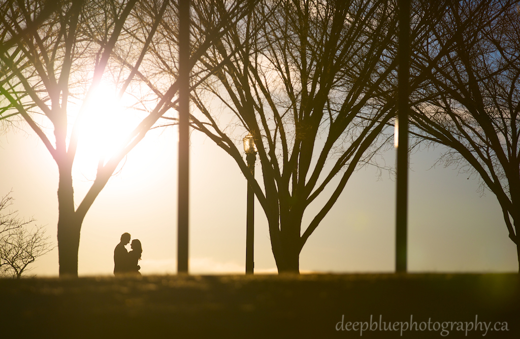 Sunset Engagement Photo Sarah and Drew