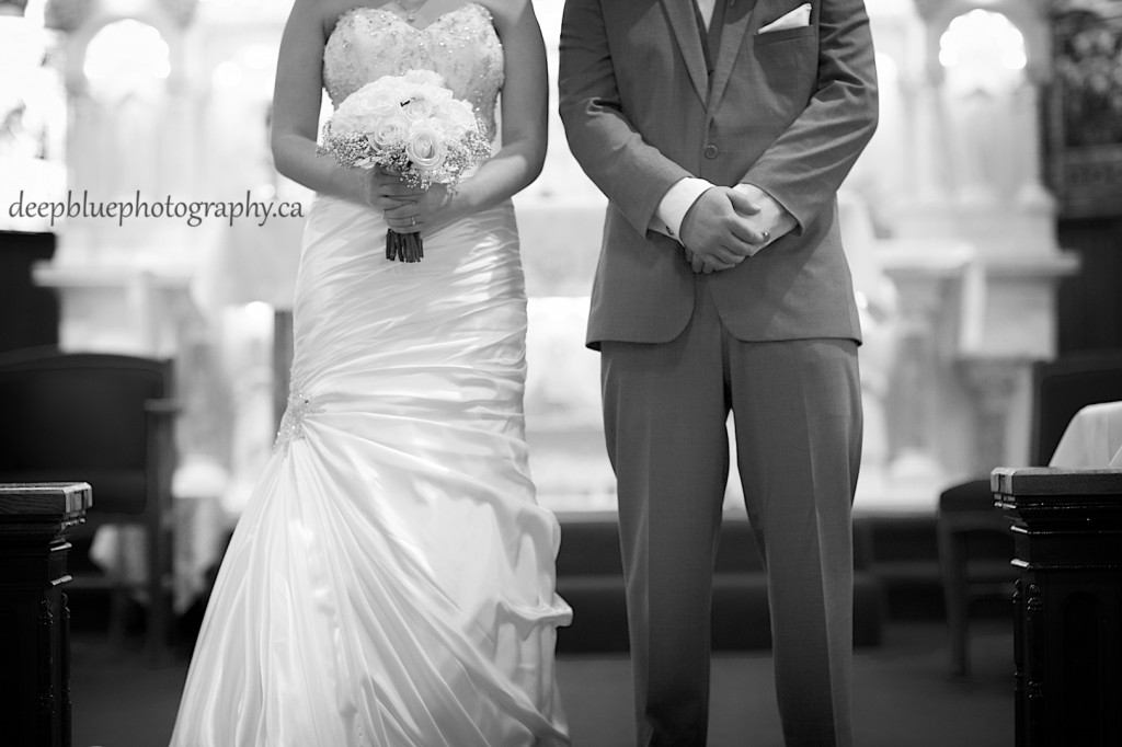 Edmonton Wedding Photography at St. Joachim Church