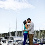 Nanaimo Engagement Photos taken at the marina