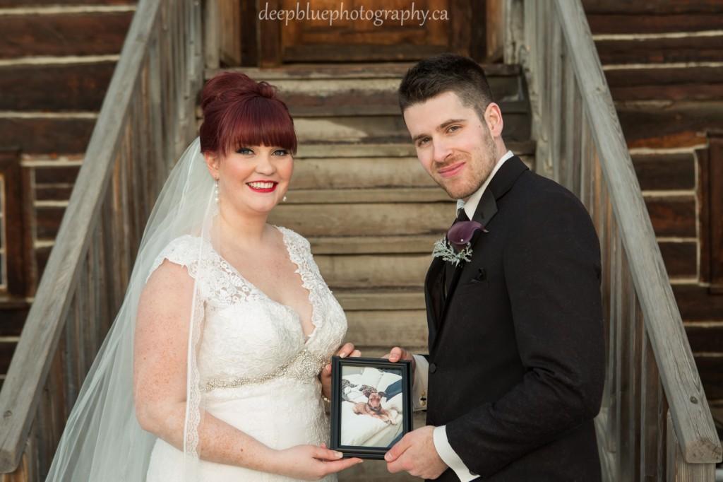 Fort Edmonton Park Outdoor Wedding Portraits