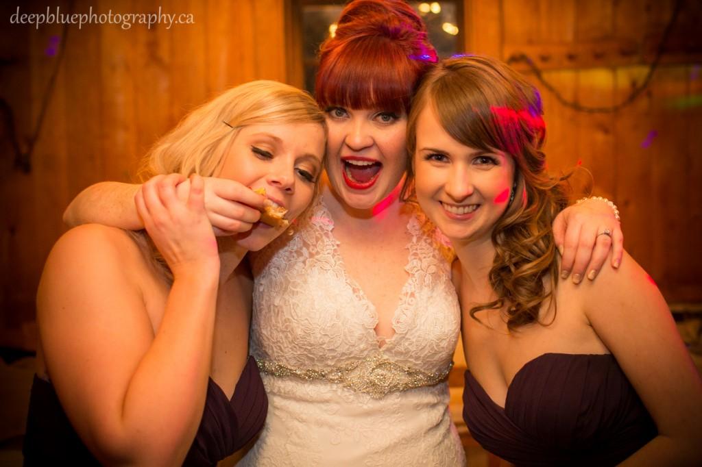 Fort Edmonton Park Winter Wedding Reception