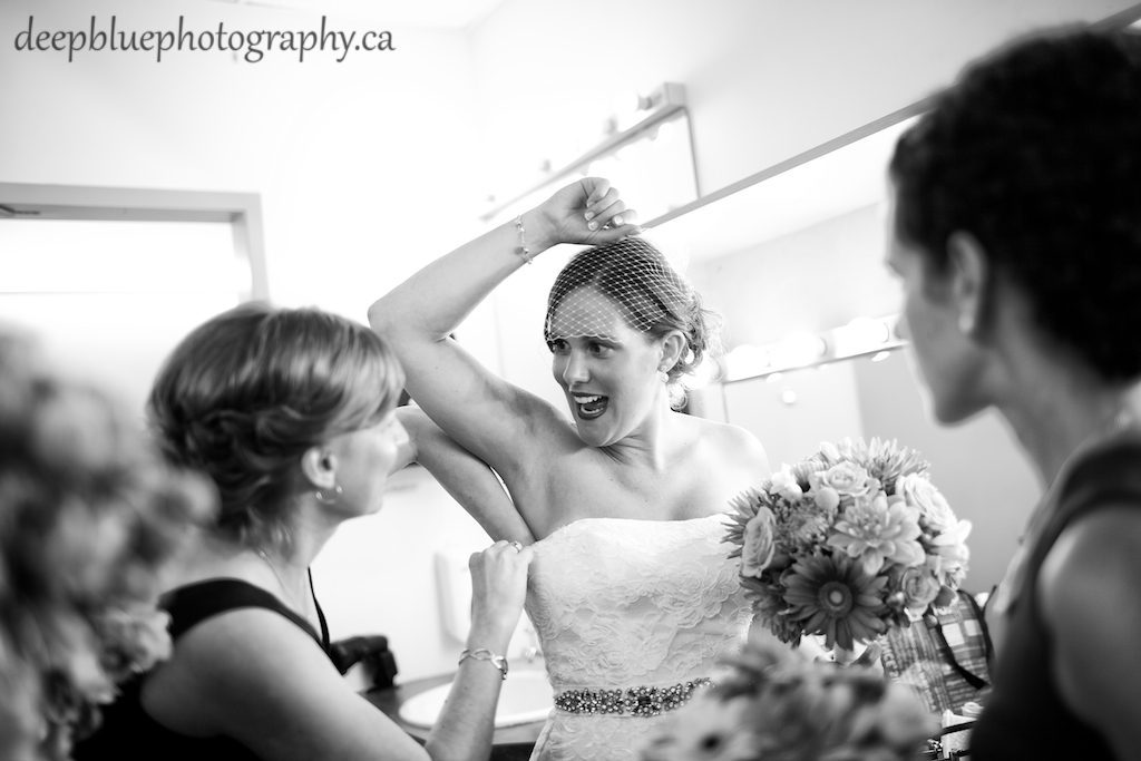 Fringe Arts Barn Wedding - Bride Getting Ready