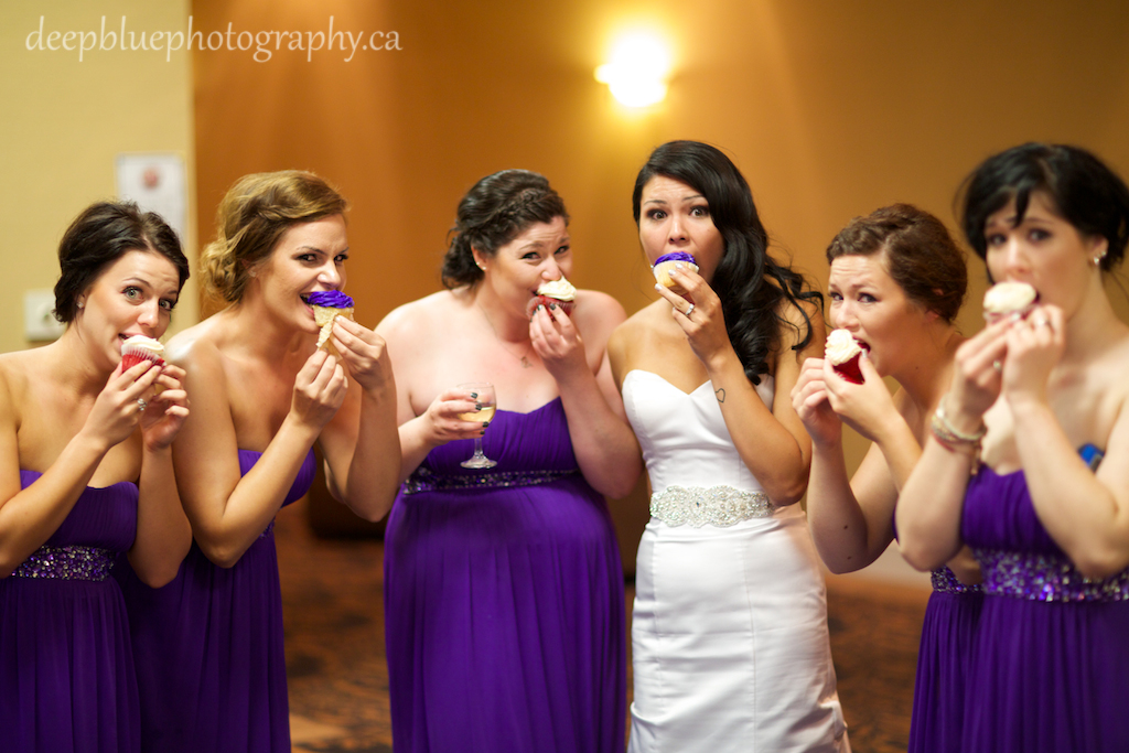 Wedding reception at the Nisku Inn and Conference Center
