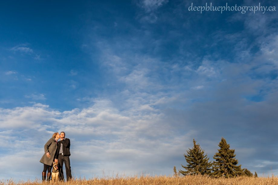 Engagement Pictures With A Dog – Krystina & Devin