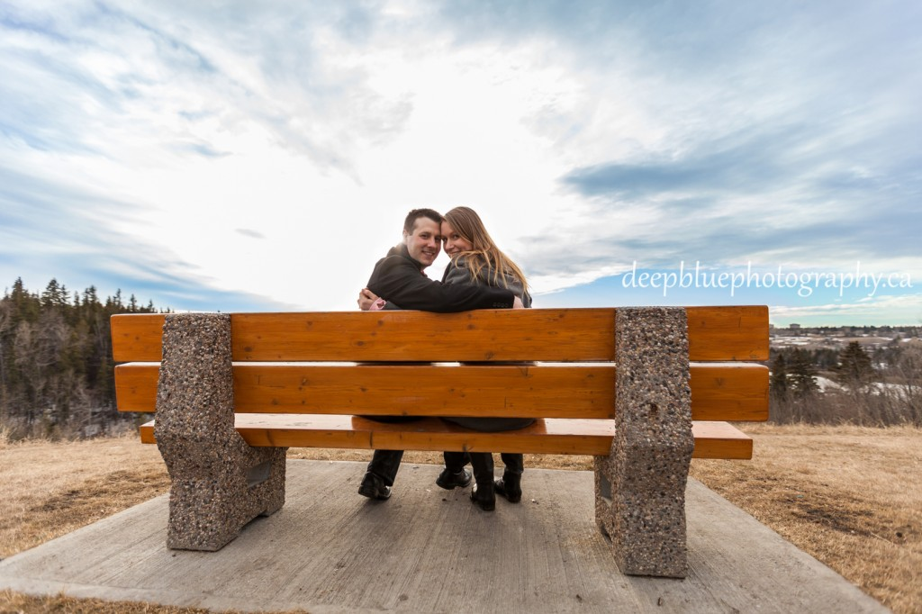 Engagement photos at Belgravia Park