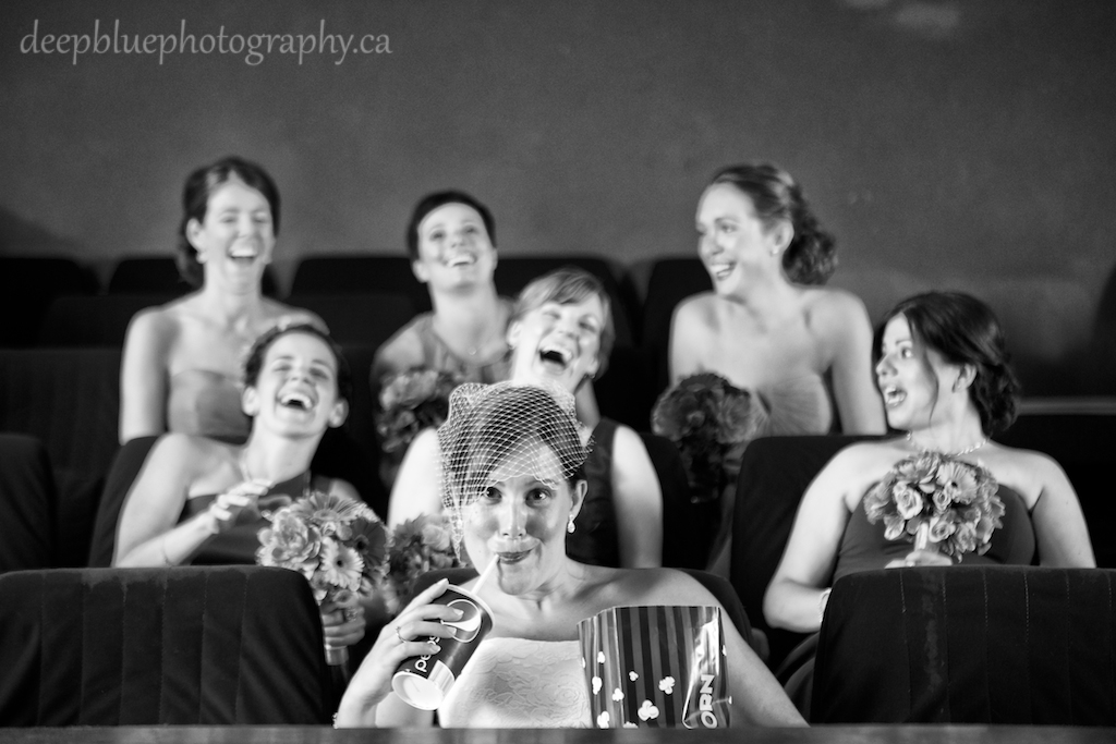 Princess Theatre Bridesmaid Photo