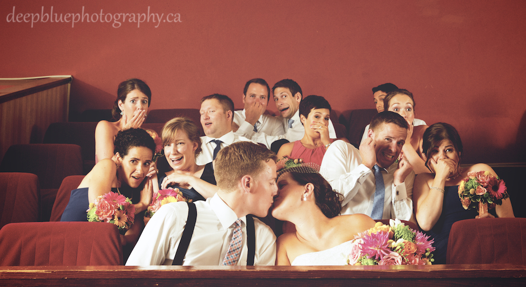 Princess Theatre Wedding Party Photo