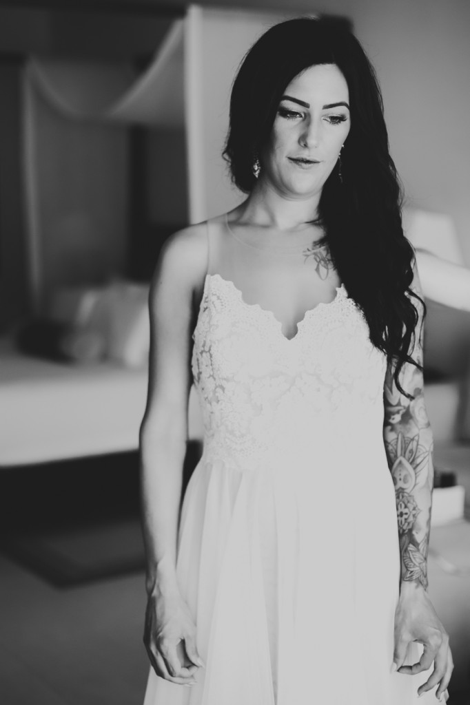 Bride Portrait Destination Wedding