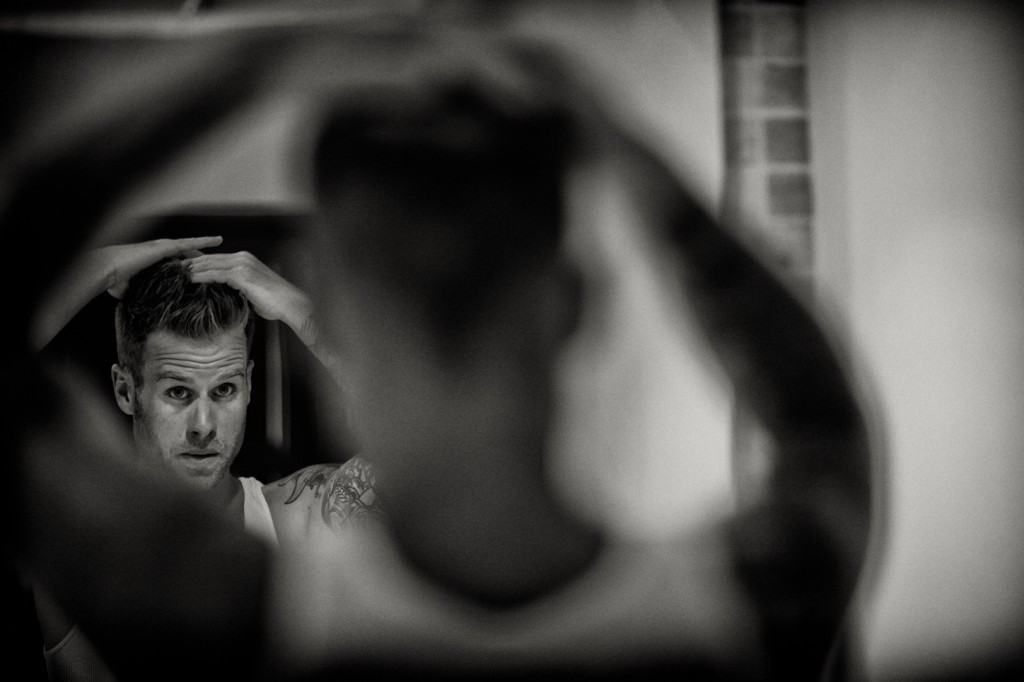 Groom Getting Ready Destination Wedding