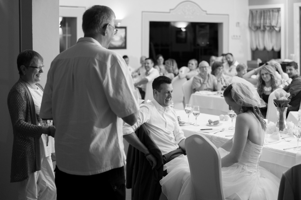 Speeches at Wedding Reception